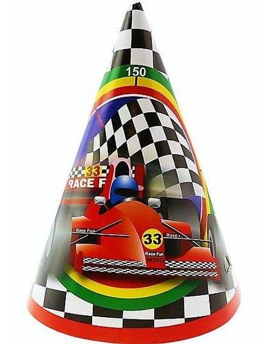 Partyhüte  Autos - Formel 1 - 6 Stück