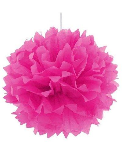 Pom Pom Dekoball Pink Magenta - 40 cm