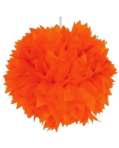 Pom Pom Dekoball orange - 30 cm