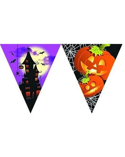 Magicoo Halloween Wimpelgirlande mit Flaggen