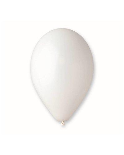 10 Premium Luftballons in Weiß