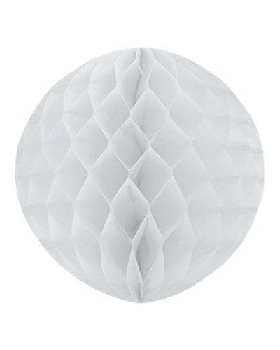 Party Wabenball weiß  - 30 cm