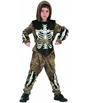 Magicoo Zombie Skelett-Kostüm für Jungen