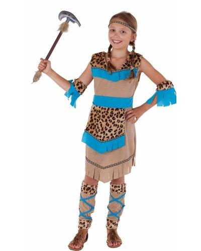 Magicoo Indianer Kostüm Mädchen Wilder Westen