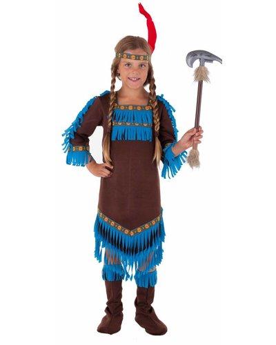 Magicoo Indianer Königin - Indianer Mädchen Kostüm