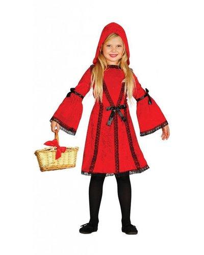 Magicoo Rotkäppchen Kostüm für Mädchen