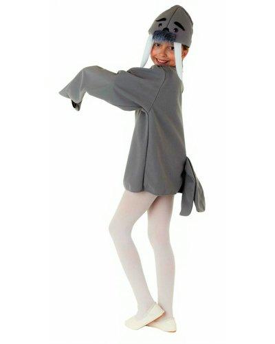 Magicoo Walross Kostüm für Kinder grau