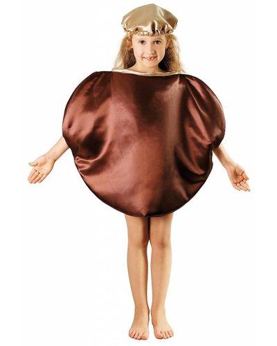 Magicoo Obst Kastanien - Maronen Kostüm für Kinder