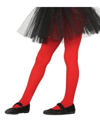 Rote Strumpfhose für Kinder
