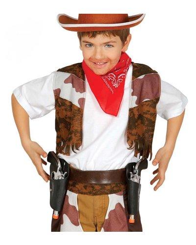 Magicoo Cowboy Holster mit 2 Pistolen