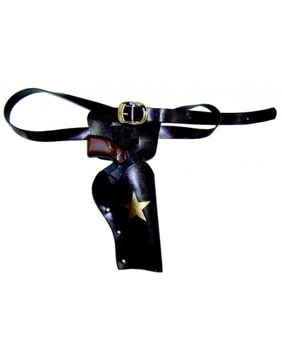 Magicoo Cowboy Holster mit Pistole deluxe