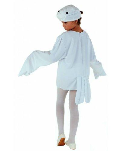 Magicoo Seehund Kostüm für Kinder weiß