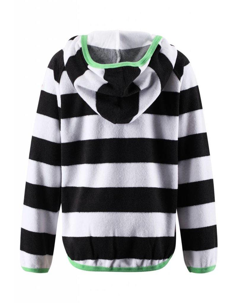 Reima Reima Rhodes UV50+ hoodie - black & white - SALE!