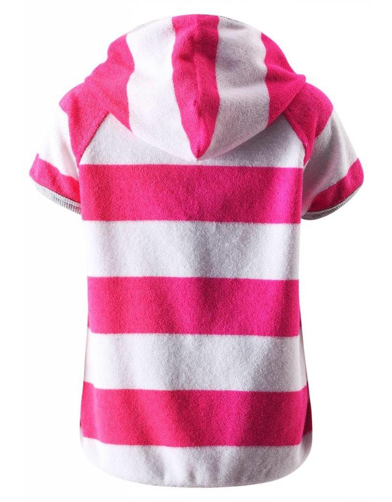 Reima Reima Barbados UV50+ short sleeve hoodie - pink & white - SALE!