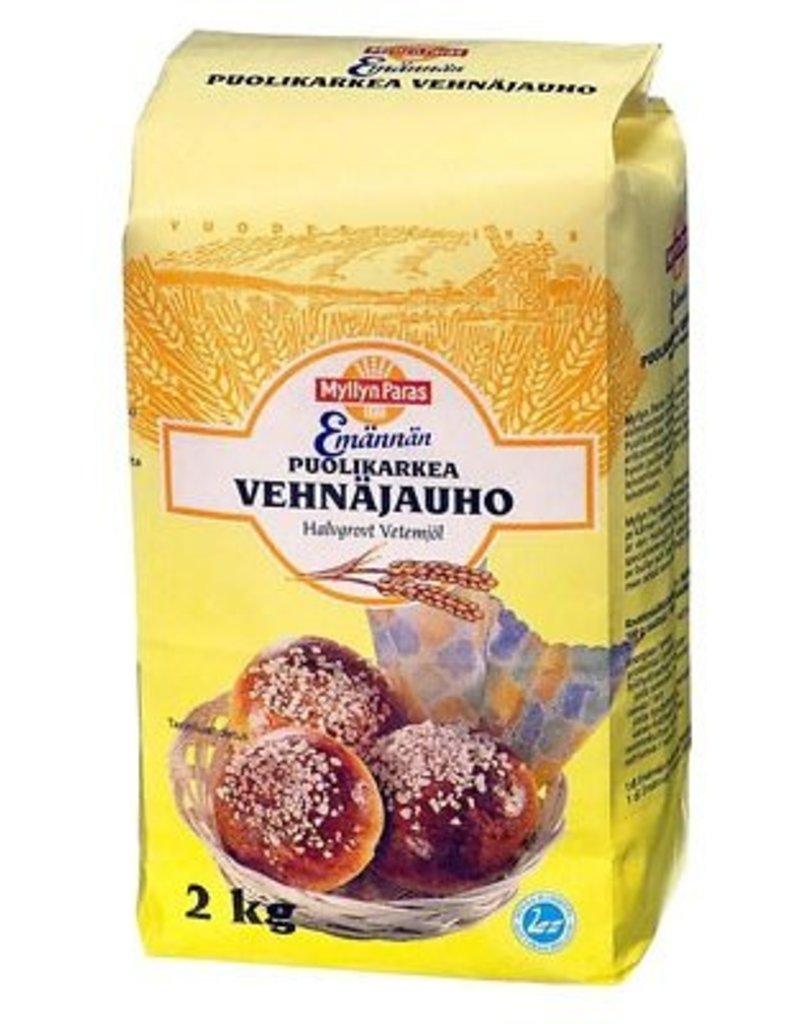 Myllyn Paras semi-coarse wheat flour 2kg