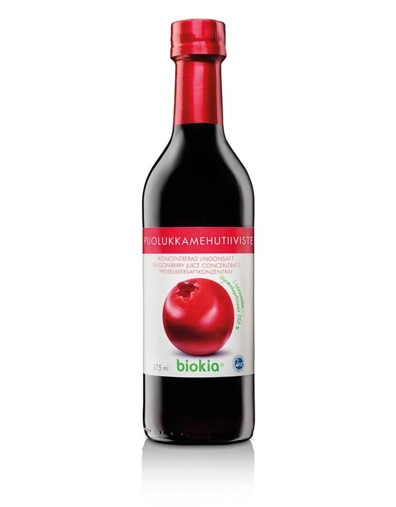 Biokia Biokia 130% wild lingonberry concentrate 375ml