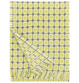 Lapuan Kankurit Lapuan Kankurit Corona blanket in pistachio, 100% wool