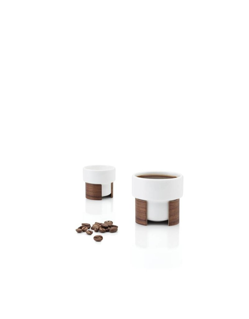 Tonfisk Tonfisk WARM 8cl Espresso Coffee Cup x 2 - white