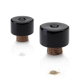 Tonfisk Tonfisk SHAKE Salt & pepper shakers - black