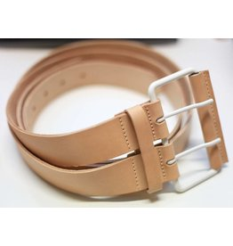 Lumi Accessories Lumi Natural Leather Double Belt