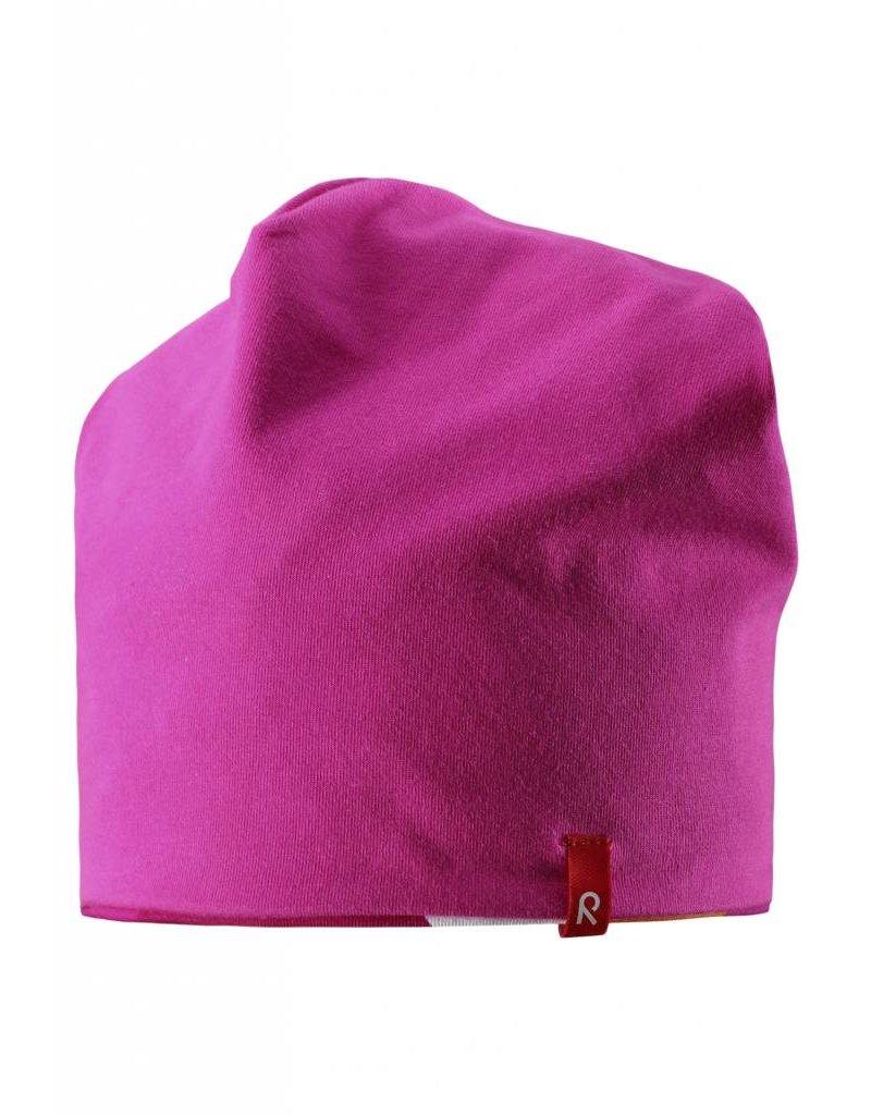 Reima Beanie Vinst Pink - REVERSIBLE now -40%