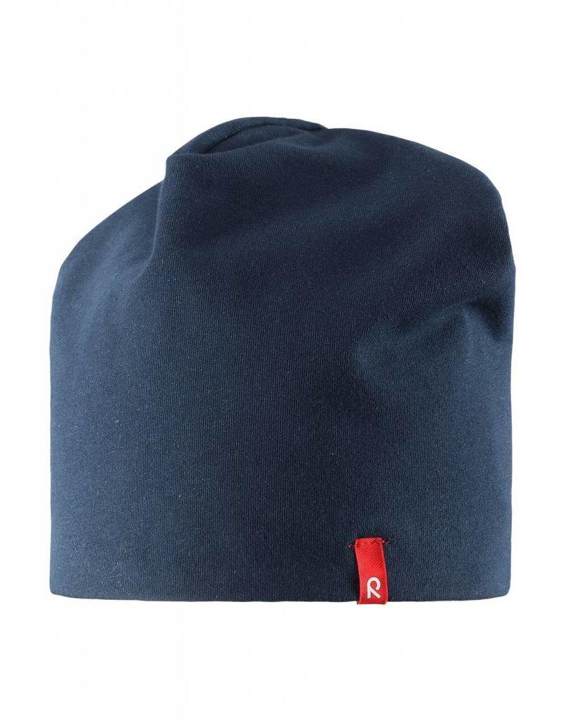 Reima Beanie Vinst blue - REVERSIBLE now -40%