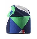 Reima Beanie Vinst blue - REVERSIBLE -40%