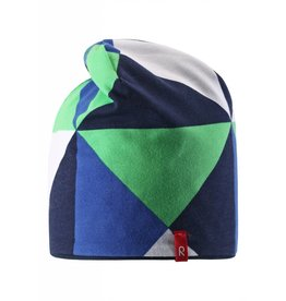 Reima Beanie Vinst blue - REVERSIBLE now -40%