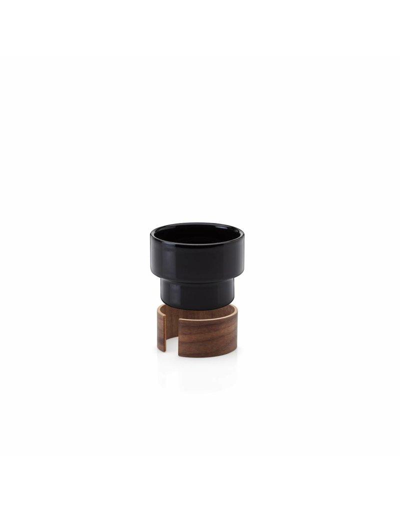 Tonfisk Tonfisk WARM 16cl Cappucino cup x 2 - in black