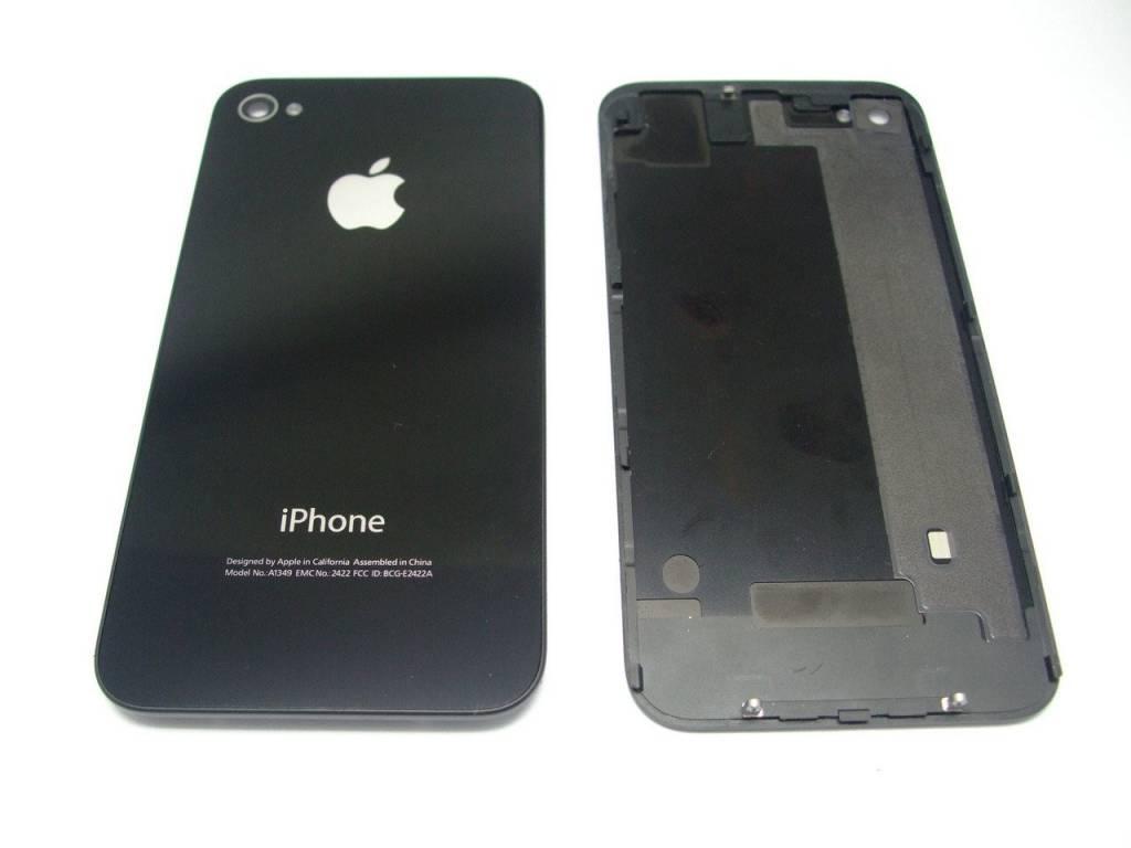 iPhone 4S achterkant zwart
