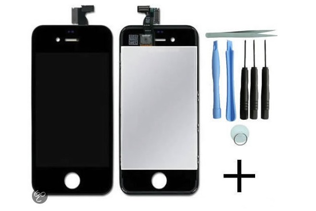 iPhone 4S Display/scherm zwart