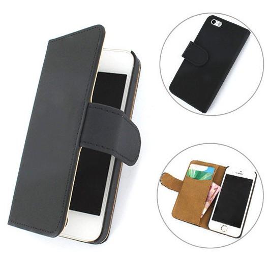 iPhone 5 /5S Boek hoesje Classic Zwart