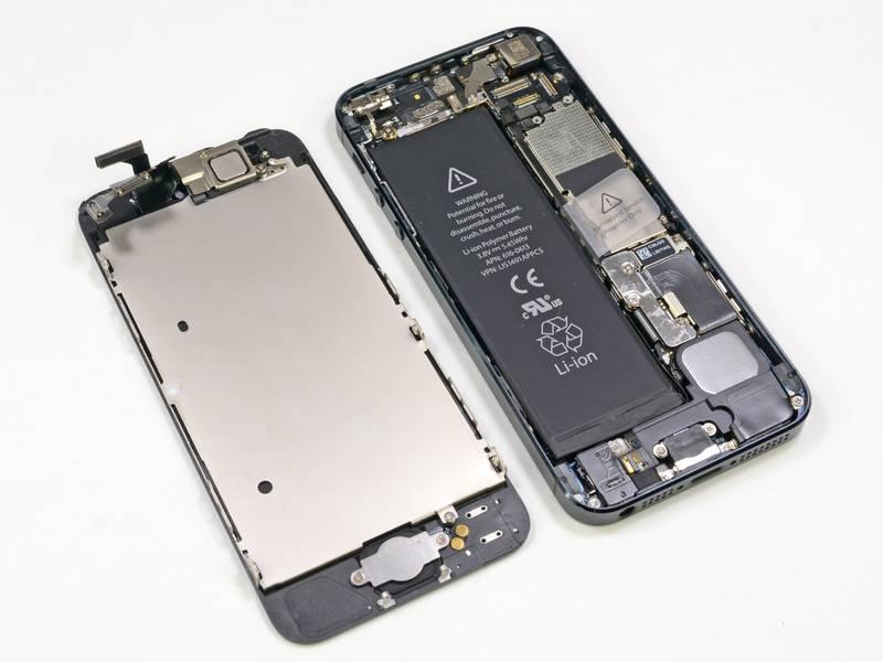 iPhone 5 Scherm Zwart