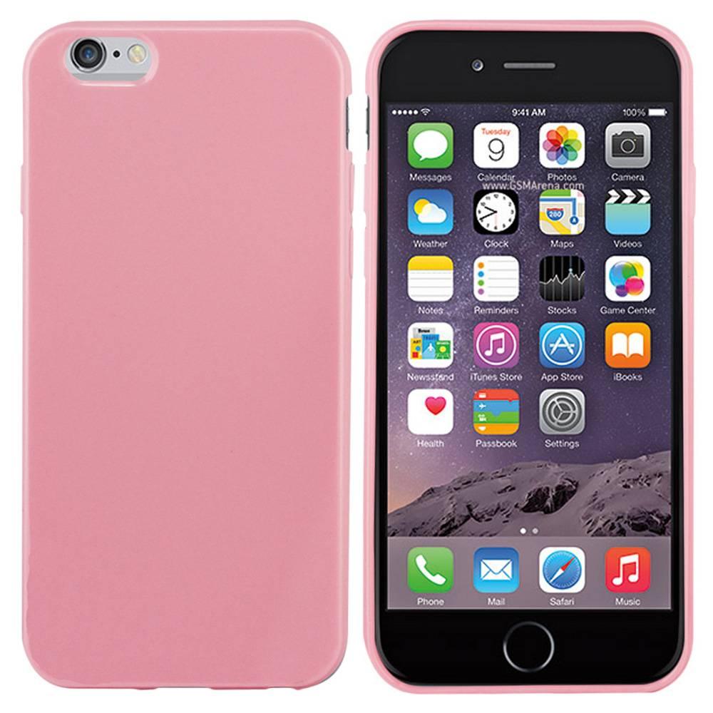 iPhone 6 hoesje Licht Roze TPU