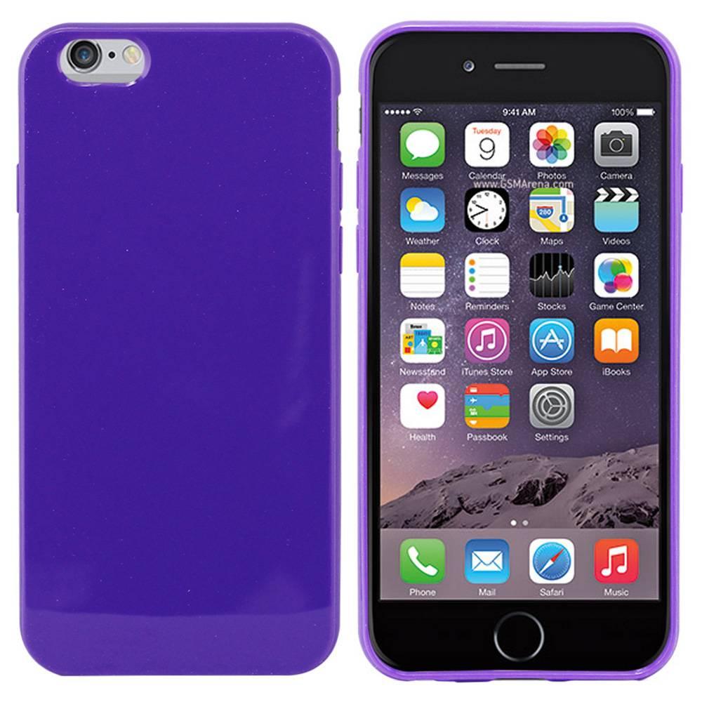 iPhone 6 hoesje Paars TPU