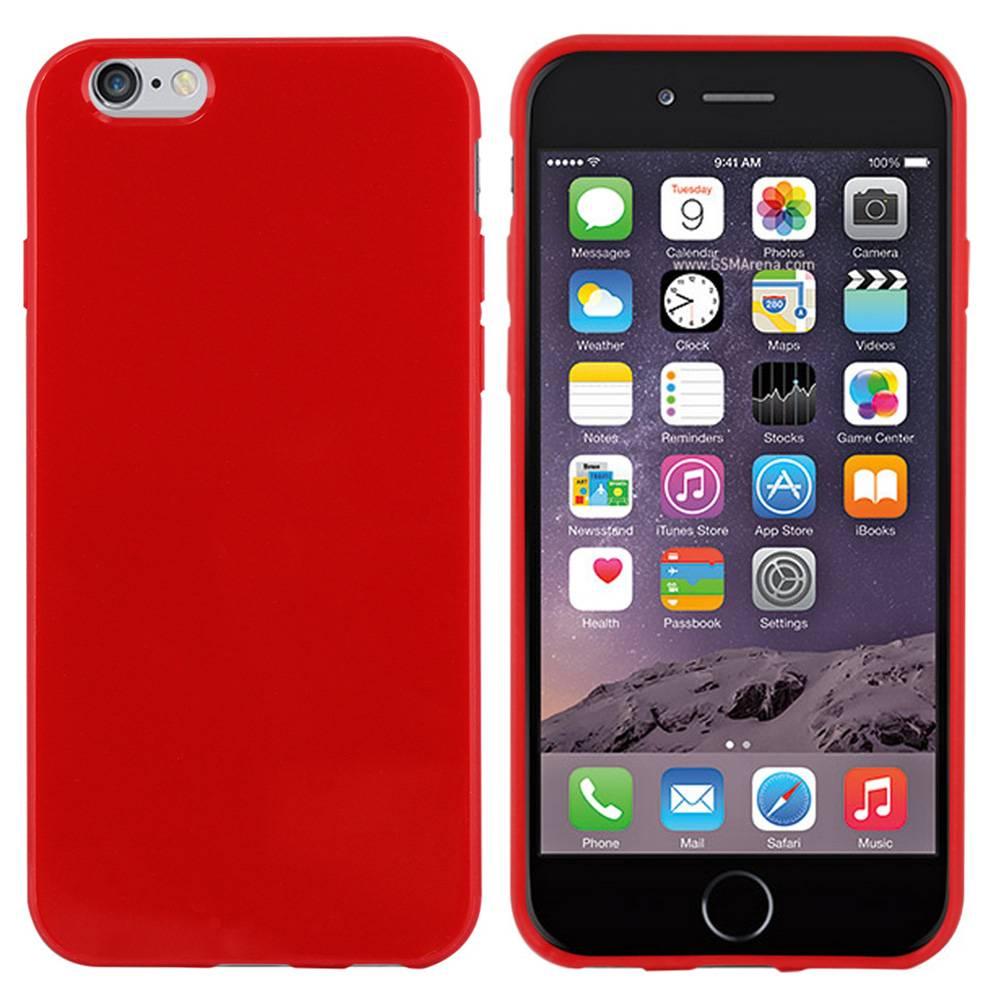 iPhone 6 hoesje Rood TPU