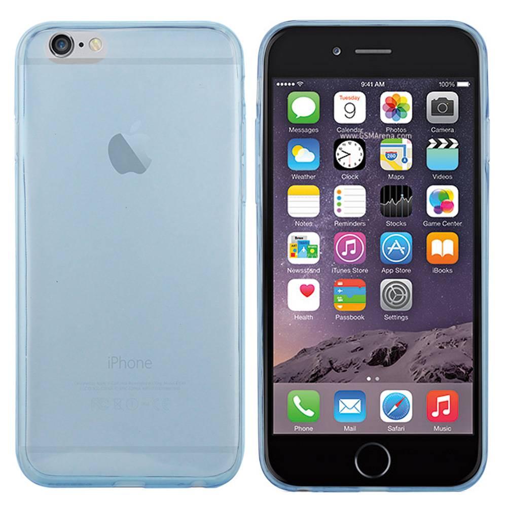 iPhone 6 hoesje Licht Blauw TPU