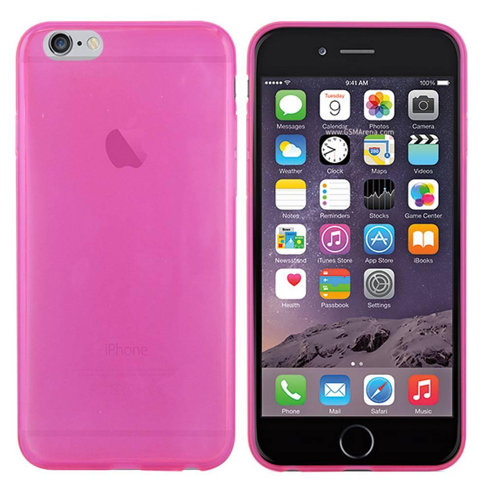 iPhone 6 hoesje Roze TPU