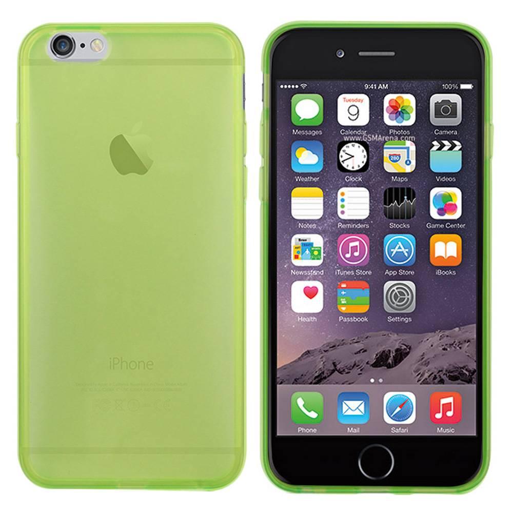iPhone 6 hoesje Groen TPU