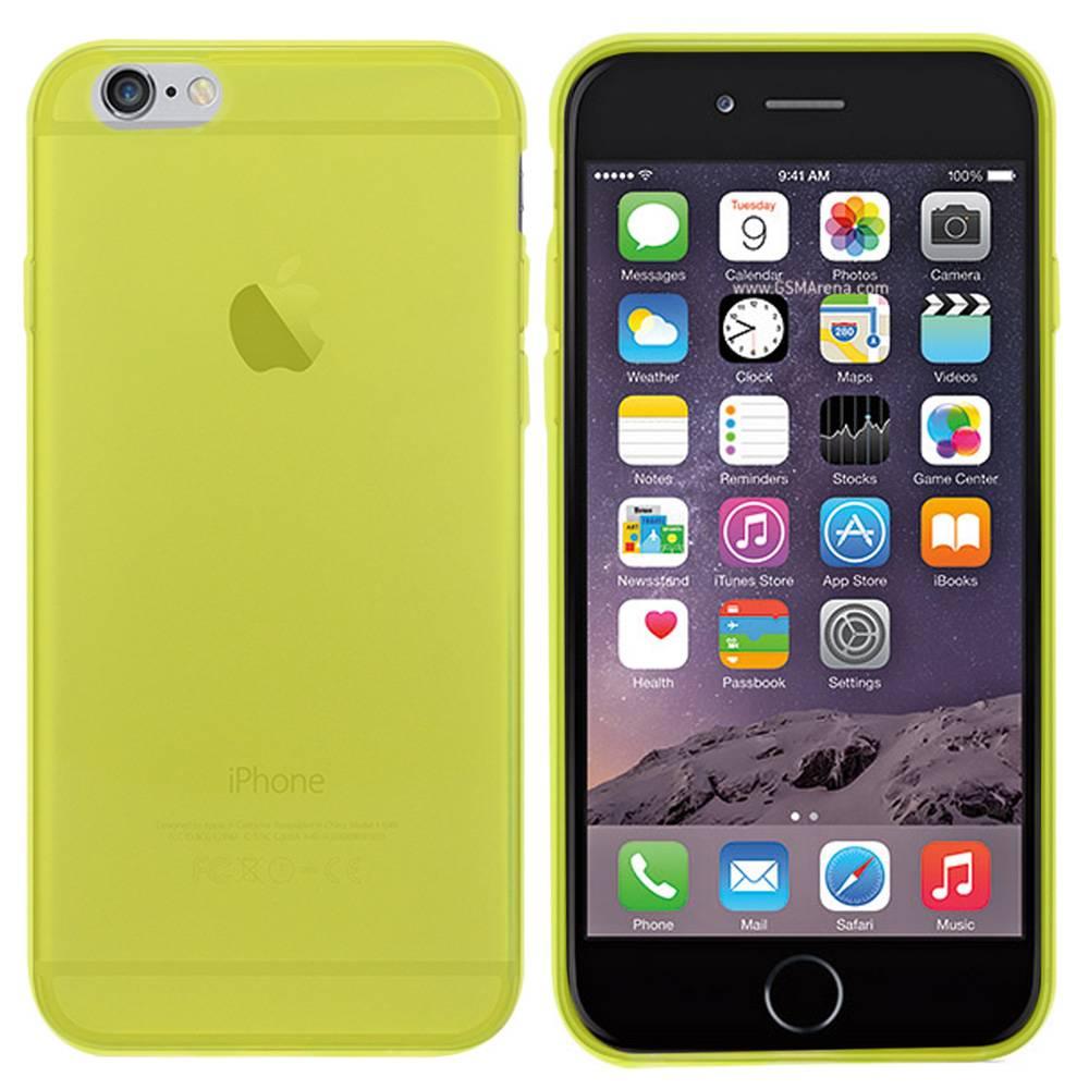 iPhone 6 hoesje Groen Transparant TPU