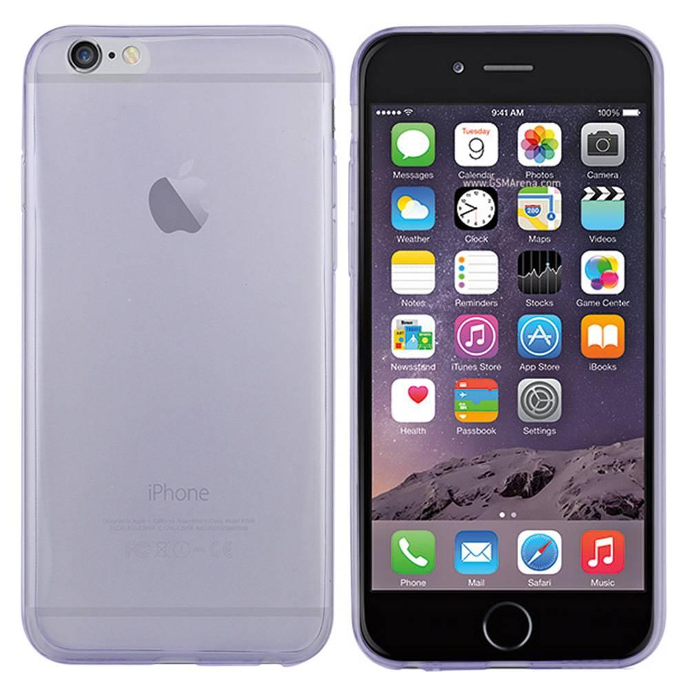 iPhone 6 hoesje Doorzichtig TPU