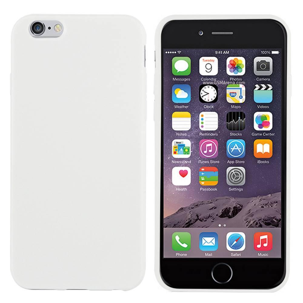 iPhone 6 hoesje Wit TPU