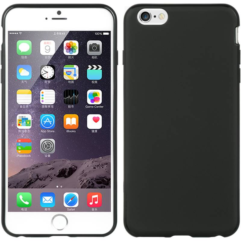 iPhone 6 hoesje Zwart TPU