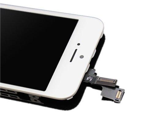 iPhone 5s Scherm wit
