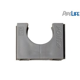 Pipelife Klemblok polfix 16mm grijs 150 stuks