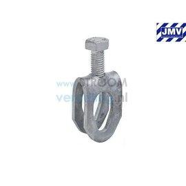 JMV Aansluitklem 12mm verzinkt staal