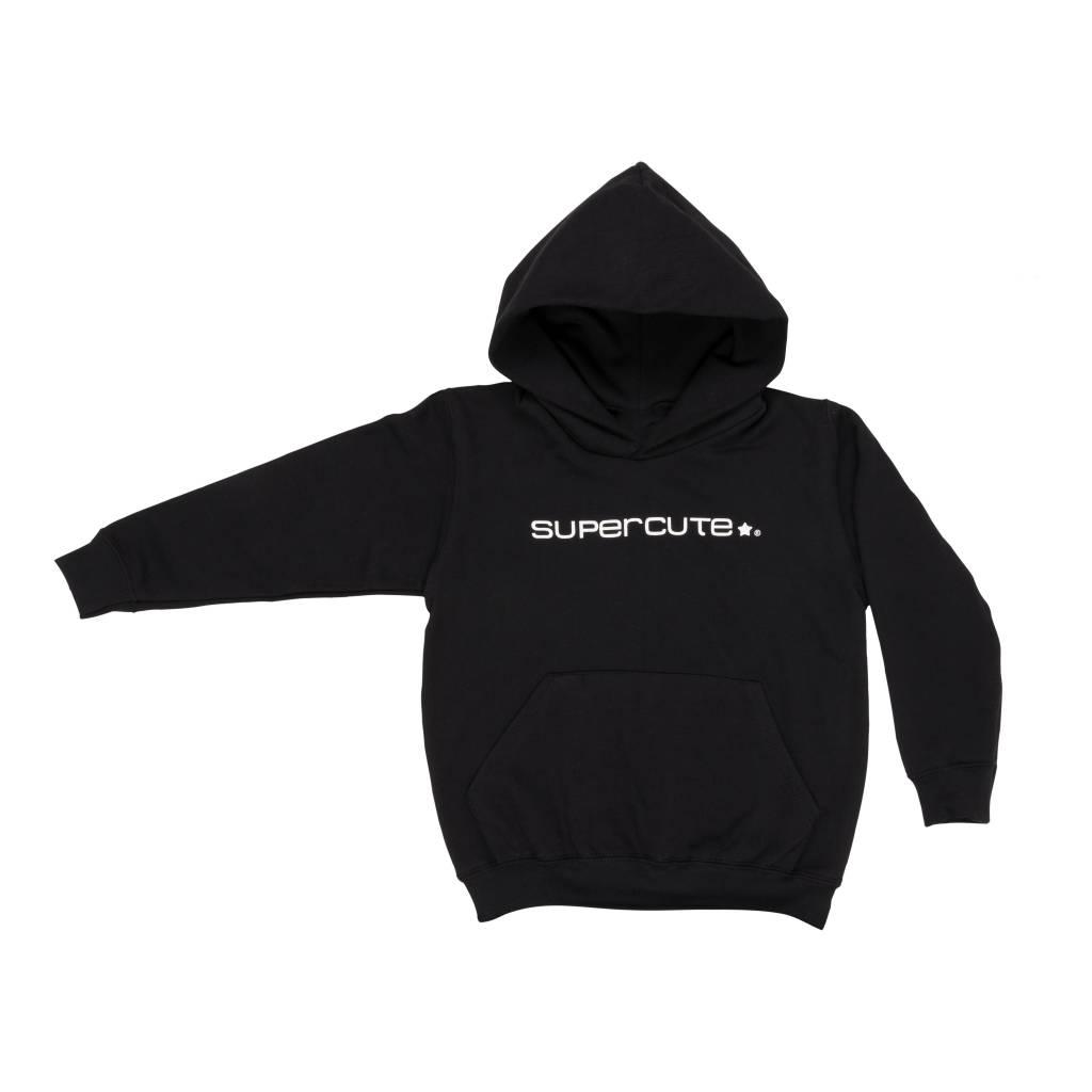 Supercute sweather Hoodie Zwart voor kinderen