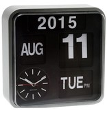 Present time Flip Klok