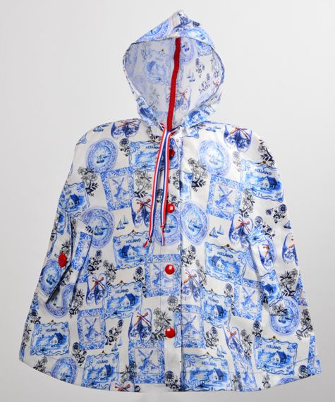 Supercute Regen poncho