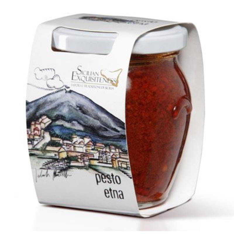 Pittige Rode Pesto, Pesto Etna